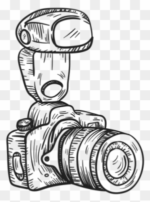 Digital Camera Clipart Black