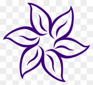 Elegant Image Of Easy To Draw Flowers Easy Drawings Lotus Flower