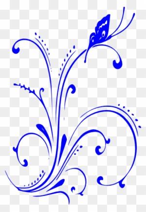 Royal Blue Wedding Border Design Free Transparent Png Clipart Images Download