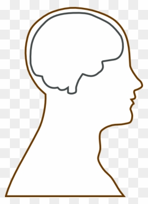 Graphics For Head Silhouette Graphics - Brain Of An ...