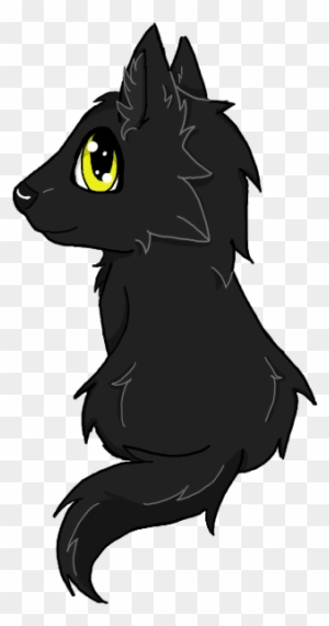 Black Wolf Pup By Wolfy Kokoro On Deviantart