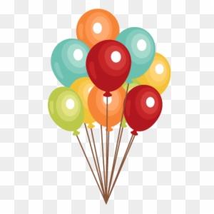 Cool Birthday Balloon Clip Art Free Balloons