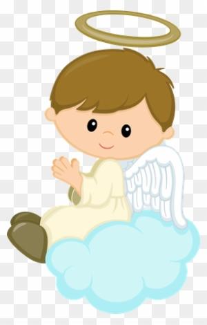 Anjo Boys Anjinhos Para Batizado Menina Free Transparent Png