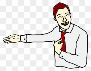 Gambar Kartun Orang Menunjuk Free Transparent Png Clipart Images Download