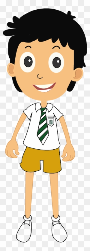 Uniform School Uniform Clipart Black And White Free Transparent