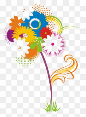 Vector Flower - Have A Nice Day In Spanish - Free Transparent PNG Clipart  Images Download