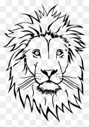 Lion Head Drawing At Getdrawings Coloring Pages Lion Face Free Transparent Png Clipart Images Download Two more steps before you will complete the steps on how to draw a. lion head drawing at getdrawings