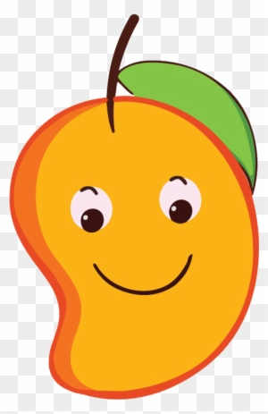 Mango Clipart Smiley - Cartoon Mango Png - Free ...