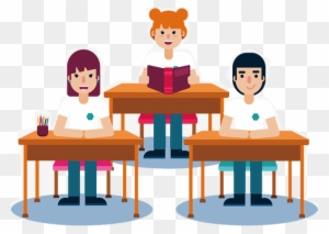 College Classroom Clip Art - Royalty Free - GoGraph