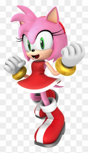 Amy Team Rose 1 4 By Nibroc Rock Sonic The Hedgehog Characters Free Transparent Png Clipart Images Download