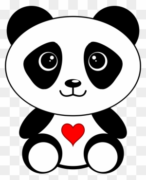 Big Image Cute Coloring Pages Of Pandas Free Transparent Png