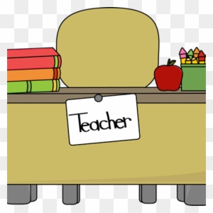 Student At Teachers Desk Helping The Teacher Free Transparent Png Clipart Images Download