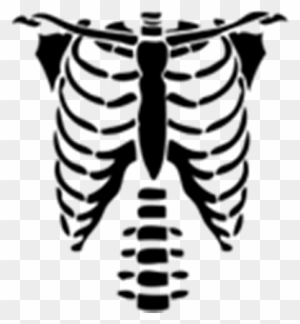 Black Jacket Roblox Halloween T Shirt Beautiful Rib Cage Cartoon Skeleton Torso Halloween Png T Shirts For Roblox Free Transparent Png Clipart Images Download