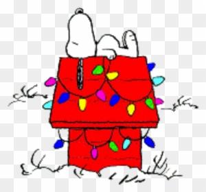 snoopy christmas doghouse snoopy christmas - Snoopy Christmas Clip Art