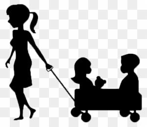 babysitting clipart black and white nanny logo