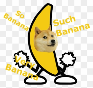 Doge Roblox Banana Doge Roblox Peanut Butter Jelly Time Free Transparent Png Clipart Images Download
