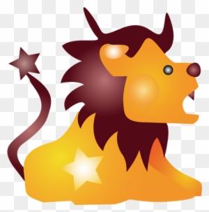 Kartun Vektor Singa Cartoon Lion Shower Curtain Free Transparent