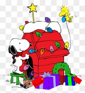 Snoopy Christmas Clip Art Transparent Png Clipart Images