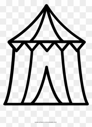 Circus Tent Coloring Page Ultra Coloring Pages Circus Tenda De