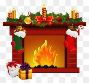 fireplace clipart christmas fireplace clipart