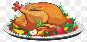 turkey dinner clipart transparent png clipart images free download rh clipartmax com Thanksgiving Turkey Dinner thanksgiving turkey dinner clipart
