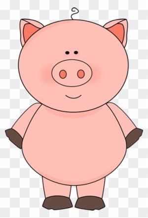 Cute Pig Clipart Dibujos Animales De La Granja Png