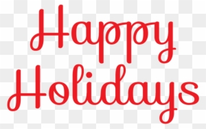 Clipart Happy Holidays From Tpm Terra