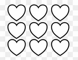 55 Heart Coloring Pages - Valentines Day Hearts Coloring Pages