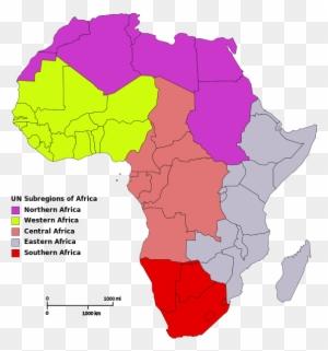 Benin Burkina Faso Cape Verde Cote D Regions Of Africa Map