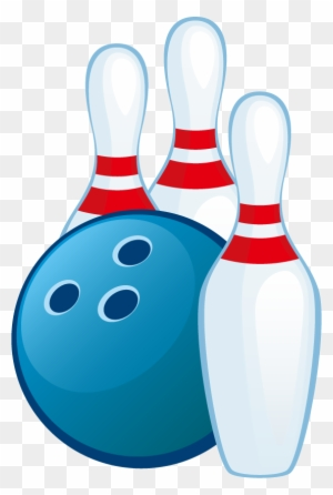 Free Clipart Bowling Pins And Ball Transparent Png Clipart Images