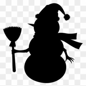 Bonhomme De Neige Bonne Tete - Snowman Face Clipart - Free
