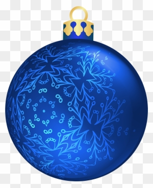 christmas ornaments clipart navy blue blue christmas ball png - Navy Blue Christmas Ornaments