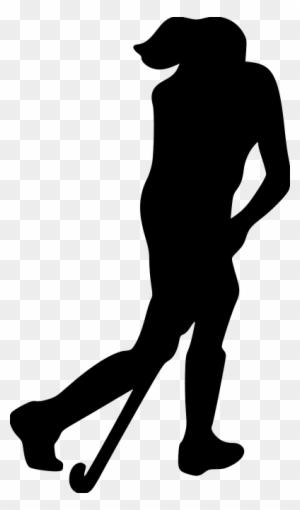 Hockey Hockey Player Silhouette Clipart Free