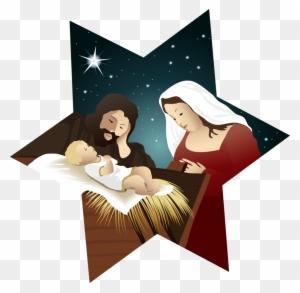 Free Christmas Nativity Clipart