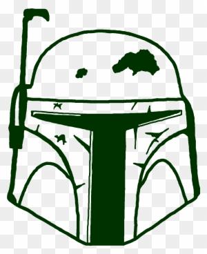 Boba Fett Helmet Boba Fett Vector Logo Free Transparent Png