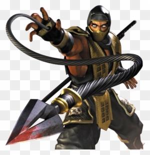 Mk Scorpion Mortal Kombat Original Free Transparent Png