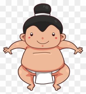 Cartoon Japanese Sumo Wrestler Clip Art , Free Transparent Clipart -  ClipartKey