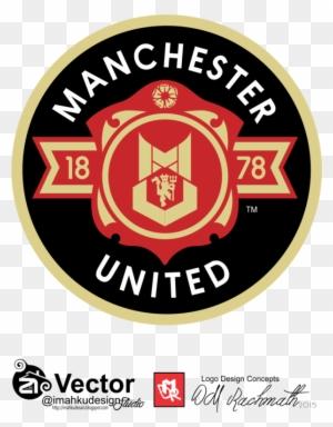 Manchester United Logo Concept Dmr By Imahkudesain Man Utd Logo Concept Free Transparent Png Clipart Images Download